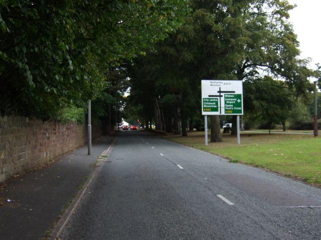 Woolton Road (B5171)