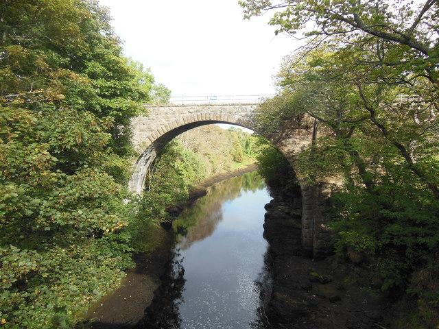 Railway Bridge over the River Brora