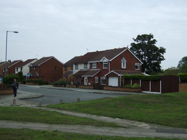 Houses on Hunts Cross Avenue