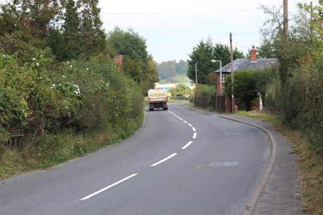 A456 towards Burford