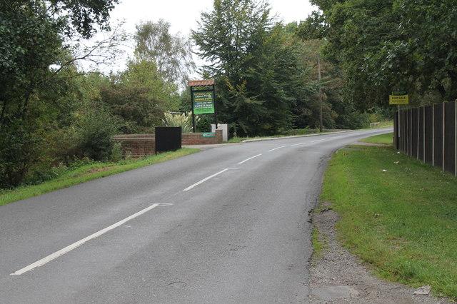 Station Road, towards Moortown