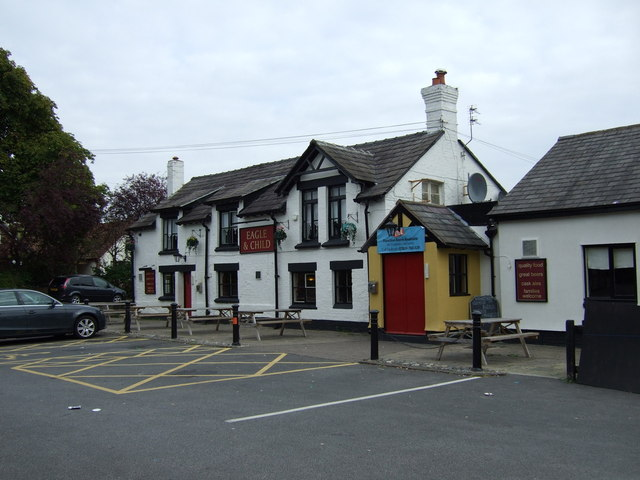 The Eagle & Child pub