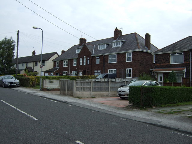 Houses on Greensbridge Lane