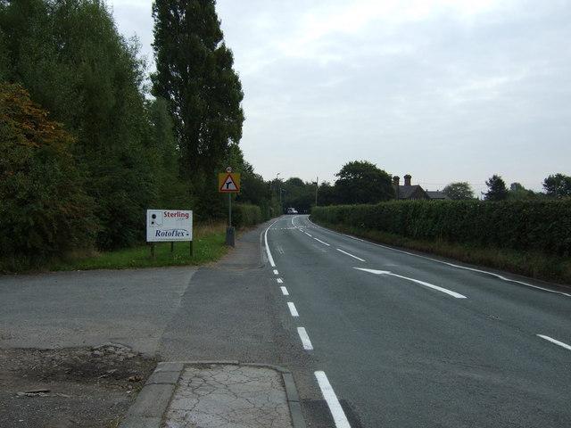 Netherley Road. Tarbock Green (B5178)