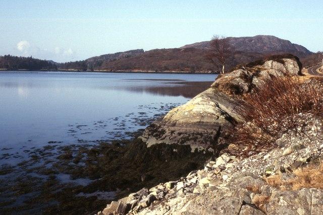 Shoreline of Loch Moidart