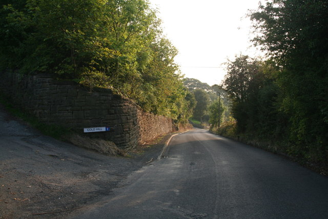 Cold Hill, off Lady House Lane