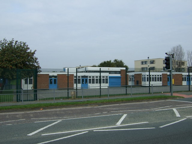 School on Hough Green Road