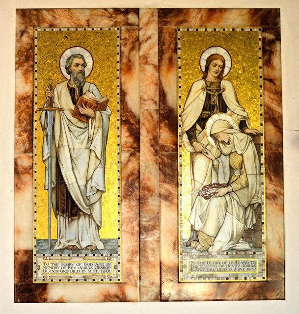 St Mary, Hopesay