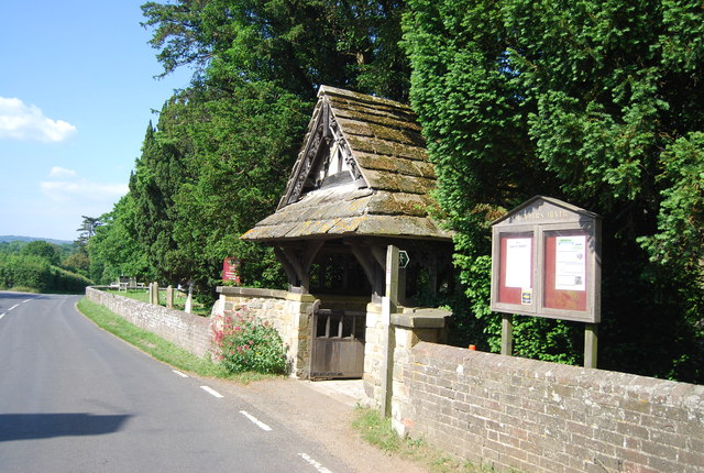 Lych gate, Church of St Peter, Hever