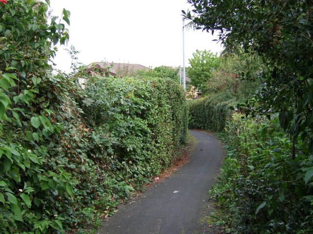 Path off Hough Green Road