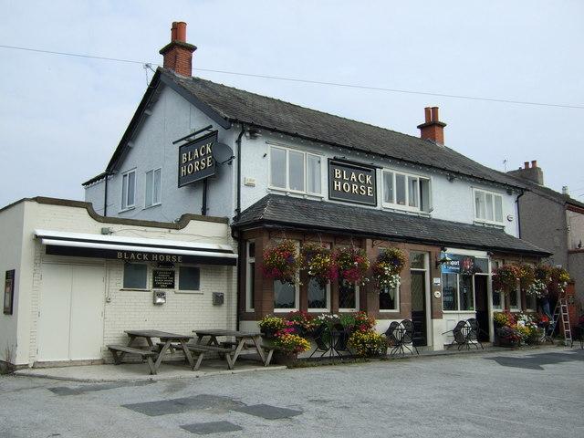 The Black Horse pub, Cronton