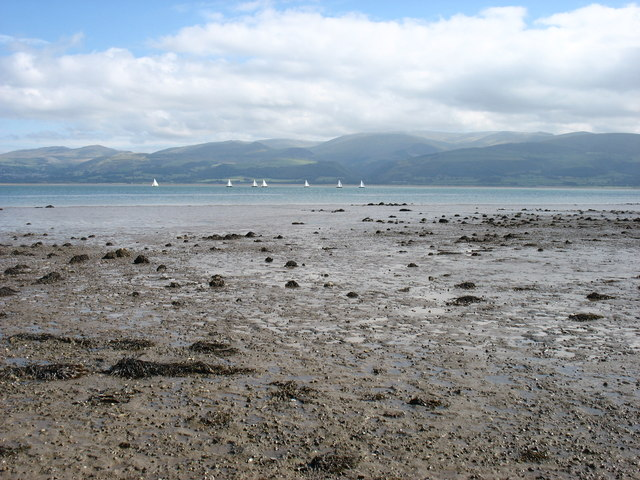 Low tide in the Menai Strait