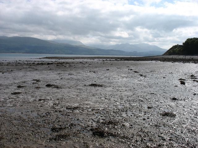 Low tide in the Menai Strait