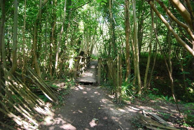Footbridge, Eden Valley Walk