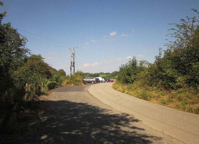 Lane approaching Castle Air