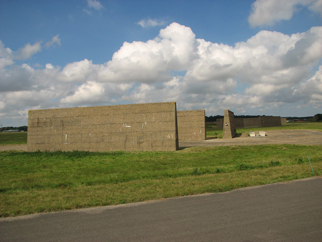 Blast walls from the Cold War period
