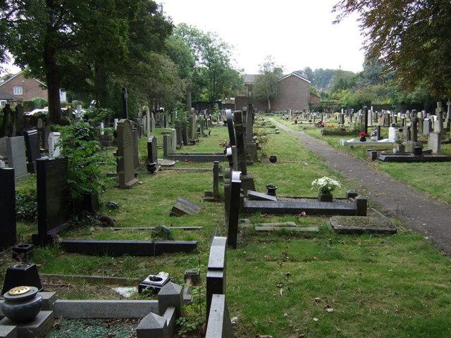 Graveyard, St Ann's Church, Rainhill