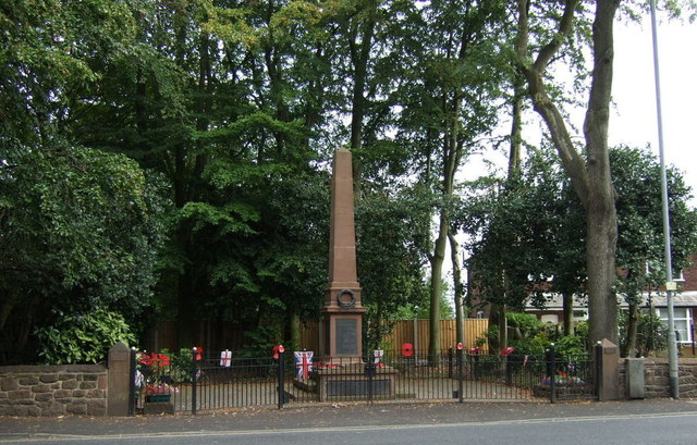 War memorial, Rainhill