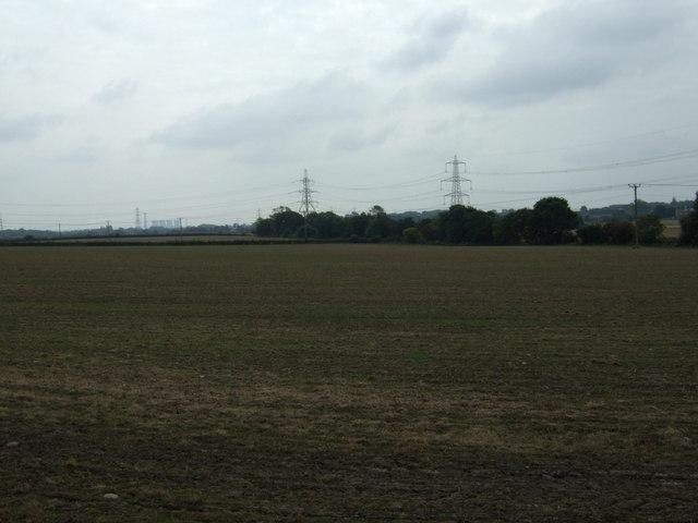 Farmland off Elton Head Road