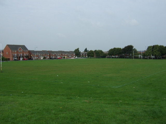 Playing fields off Sherdley Road
