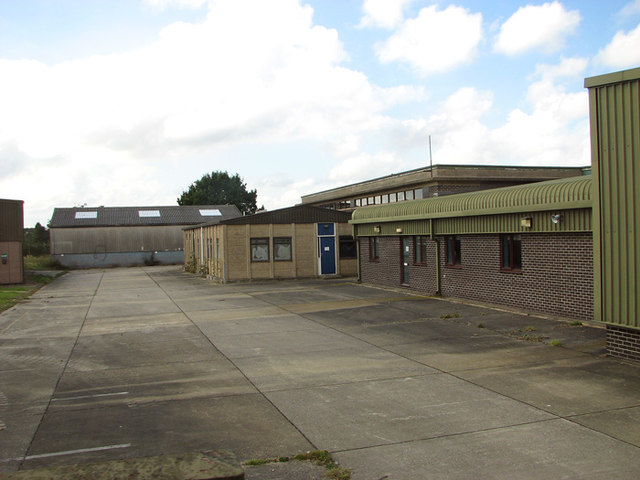 Buildings on the Technical site