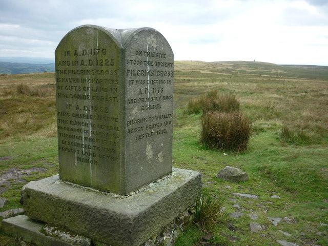 Pilgrim's Cross (north west side)