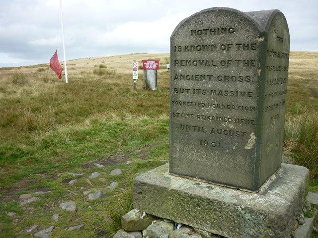 Pilgrim's Cross (south east side)