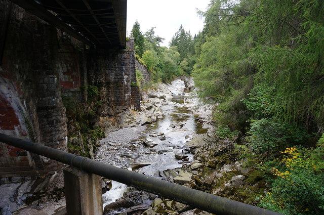 River Garry, Struan