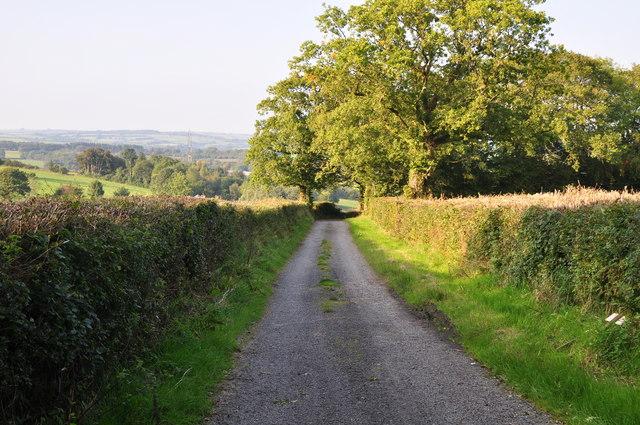 Mid Devon : Farm Track