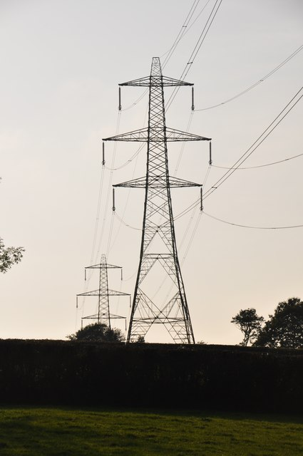 West Somerset : Pylons