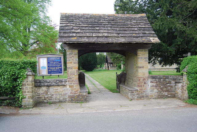 Lych gate, Church of St Andrew
