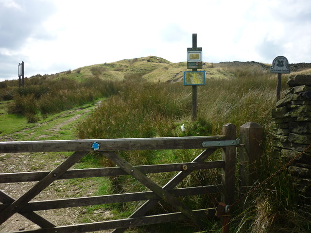 Holcombe Moor, Helmshore entrance