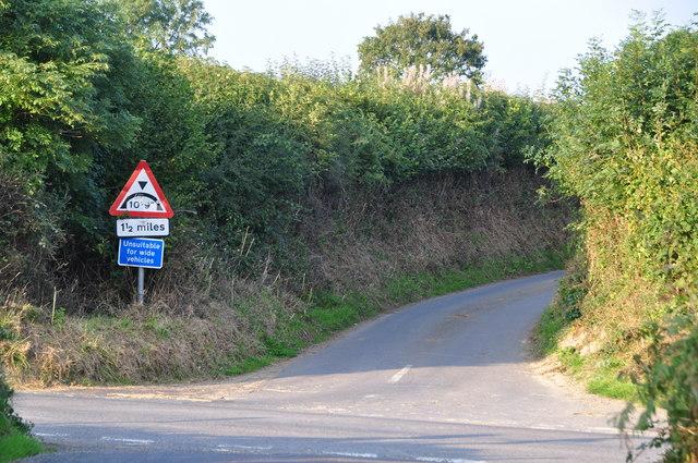 West Somerset : Trackfordmoor Cross