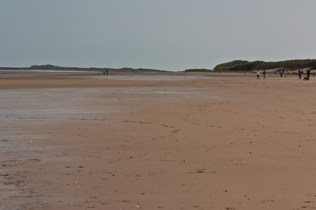 Brancaster beach, view East