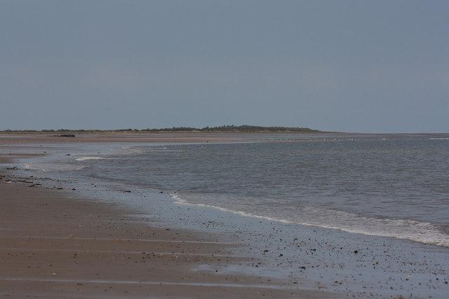 Brancaster beach, view West