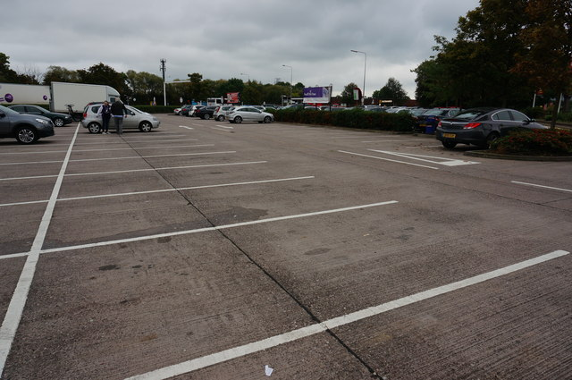 Parking area, Sandbach Services