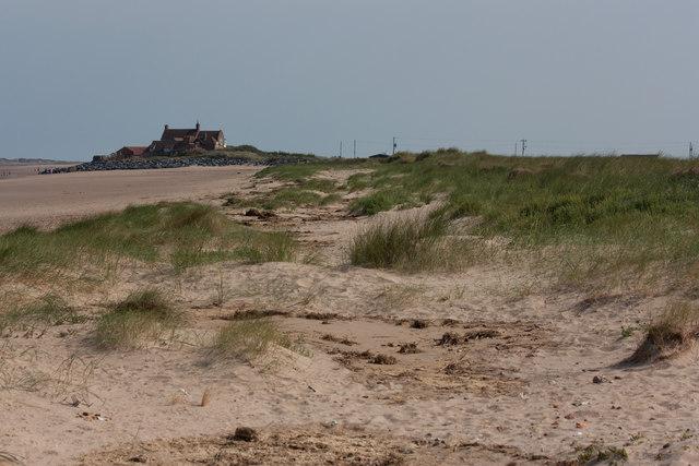 Sand dunes, Brancaster Bay