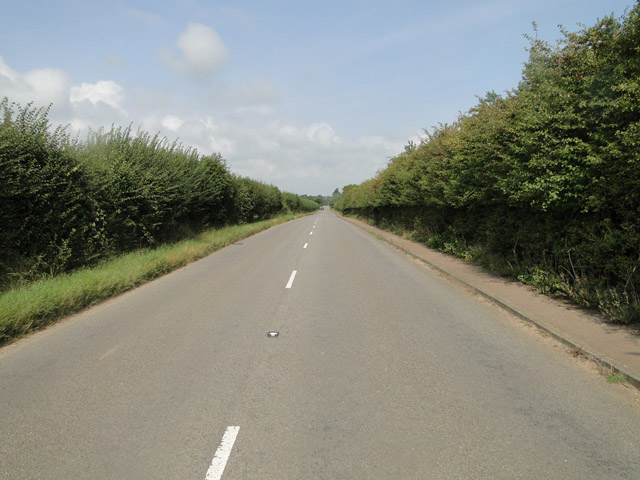 Road to Sizewell