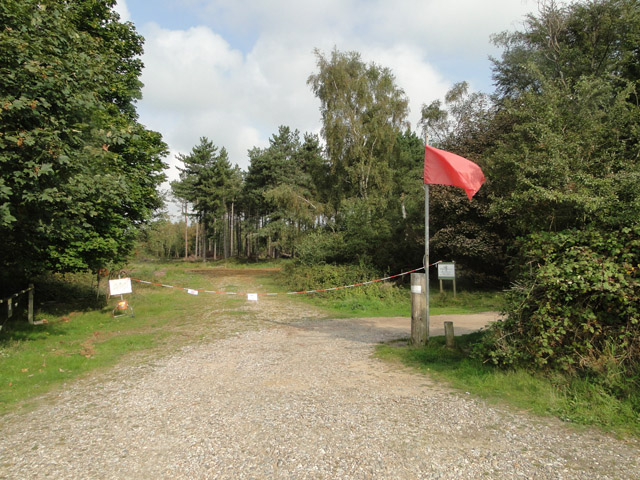 Archery club off Westleton Road