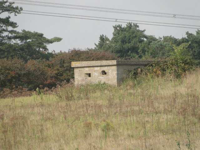 A Suffolk Square pillbox at Sizewell