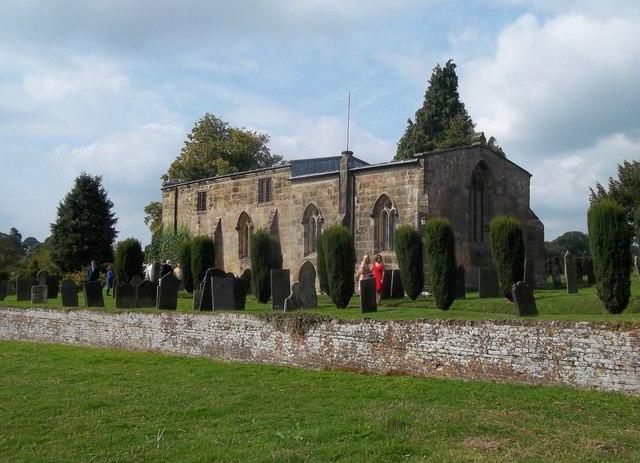 All Saints' Church in Bradley