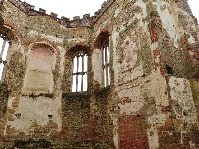Cowdray Castle ruins