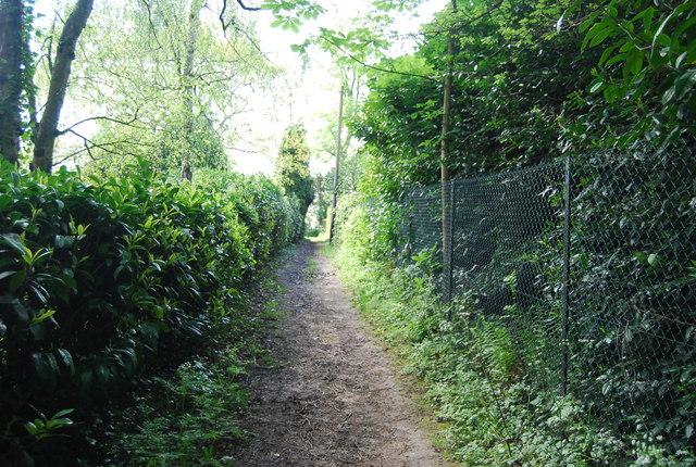 Bridleway to Vann House