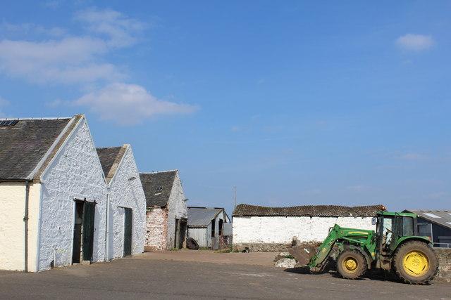 Farm buildings at Polnoon