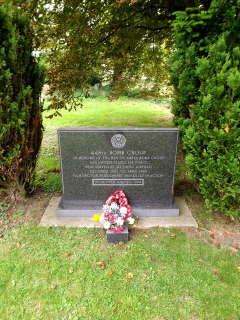 Memorial to 448th Bomb Group