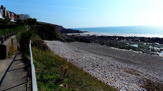 NE side of Langland Bay, Swansea