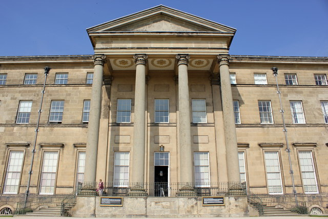 Portico at Attingham Park Mansion