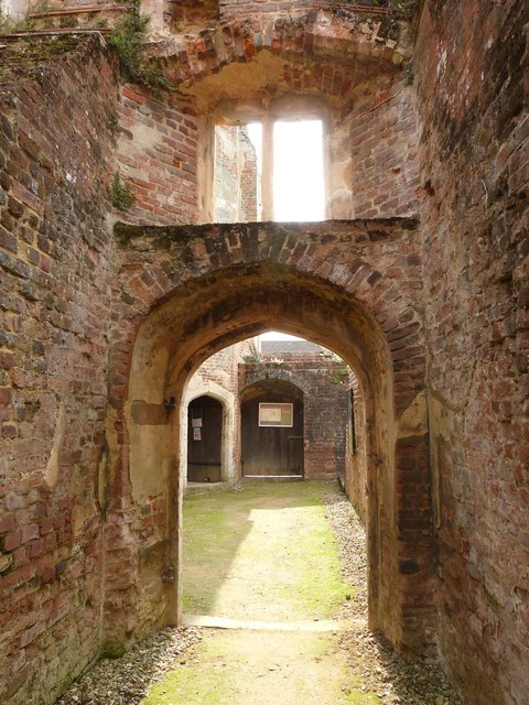 Cowdray Castle ruins, Midhurst