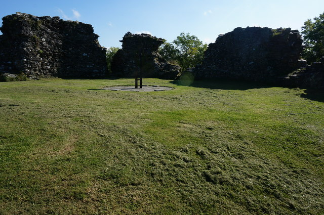 Plympton Castle (remains off), Plympton St Maurice