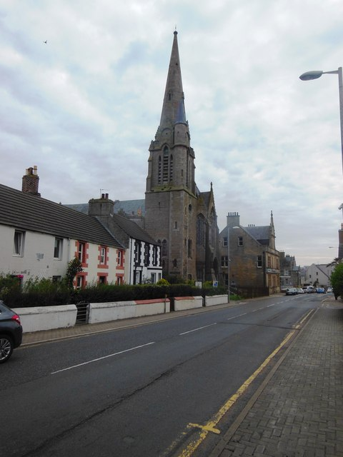 Olrig Street  (the main  A9 road),  Thurso